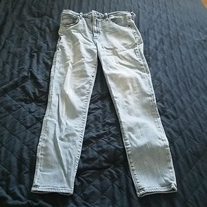 Abercrombie and Fitch Simon High Rise Ankle Jean